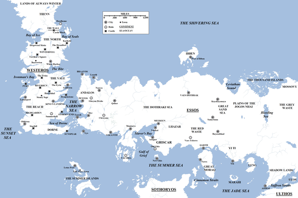 What Is The Best Game Of Thrones World Map I Can Use To Follow What
