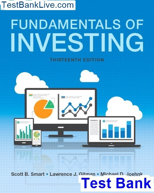 Fundamentals of corporate finance ross 9th edition solutions.