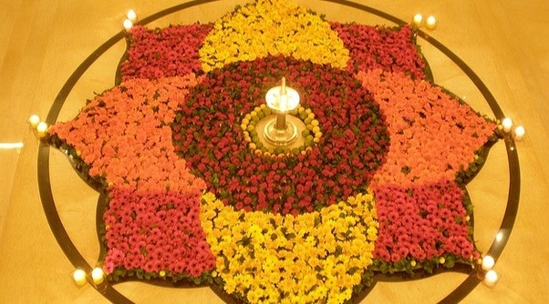 Diwali Decoration In Home With Crepe Paper Toran From Flowers To Cloth There Are Many Ideas