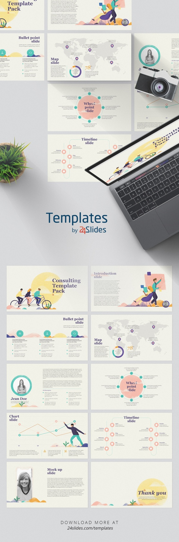 For More Awesome Presentation Templates Head Over To By 24slides And Grab Them Free