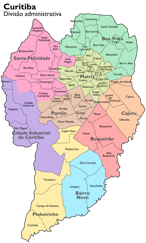What are the good and bad neighborhoods of curitiba brazil quora the oldest administrative zone is the matriz which is the place where districts like the bigorrilho batel and mercs are these districts are famous to gumiabroncs Image collections