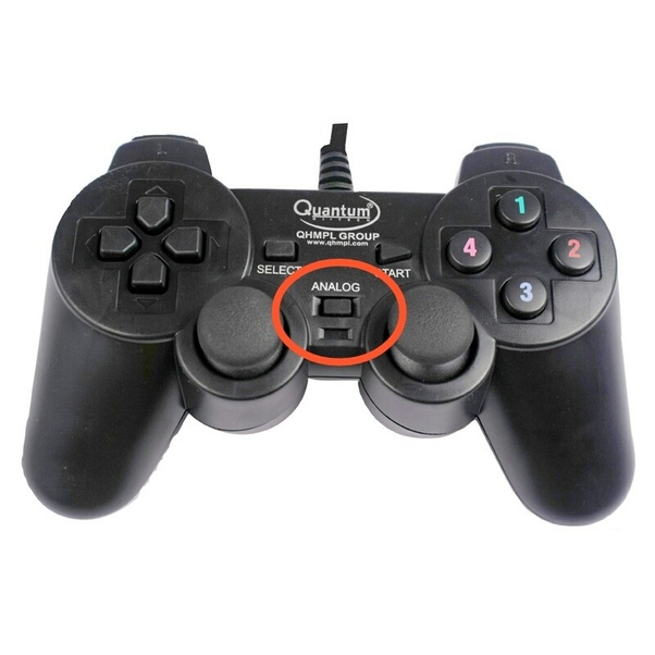 I have a quantum gamepad for pc and its right analog stick is acting