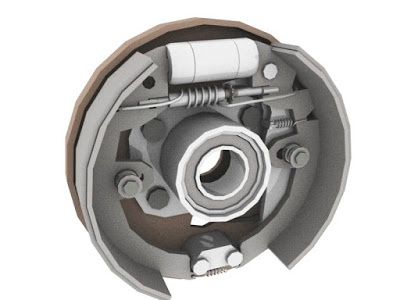 An Adjuster Is Also Provided To Compensate For Wear Of Friction Lining With Use This Brakes Are Widely Used In Motorcycle And The Cars