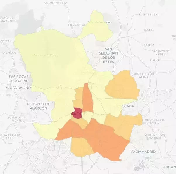 Which Are The Bad Neighborhoods To Stay In Madrid Quora