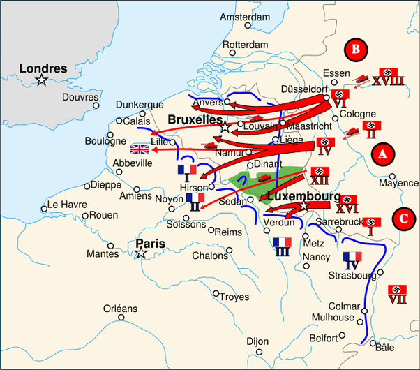 What caused the fall of france in world war 2 quora earlier i had inadvertently posted the 1914 map instead of the 1940 map my fervent thanks to luca yang for correcting me gumiabroncs Images