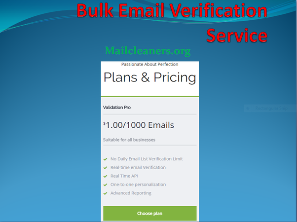 What is a free (meaning no-pay) bulk email verification tool