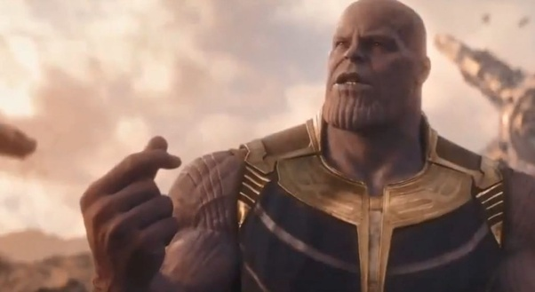 Que significa you were spared by thanos en español