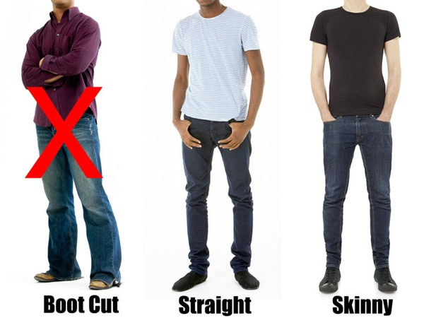 Do you think skinny jeans look good on guys or makes men