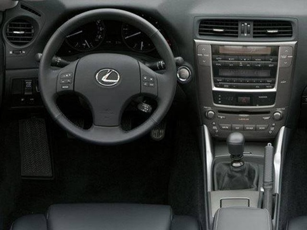 lexus is 250 manual 2012