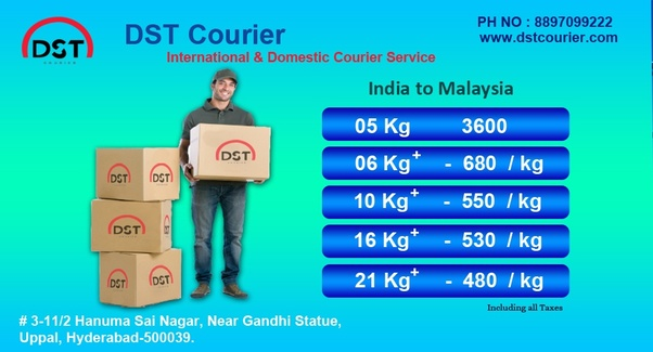 Which Is the cheapest courier service to send courier from