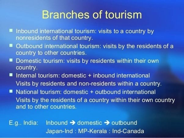 what are the differences between outbound tourism and