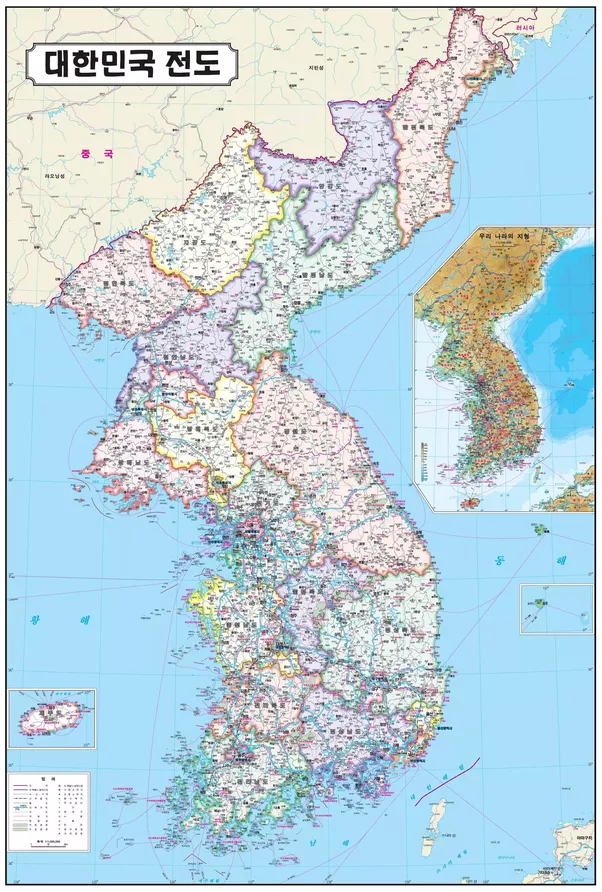 Do South Korean maps show North Korea as a country? - Quora
