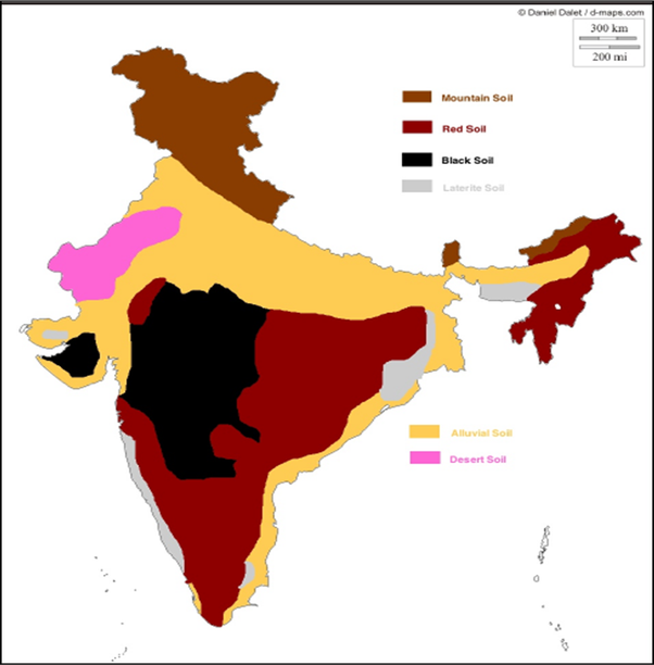 Which state in india is black soil found in quora also refer to the soil map of india as shown below thecheapjerseys Gallery