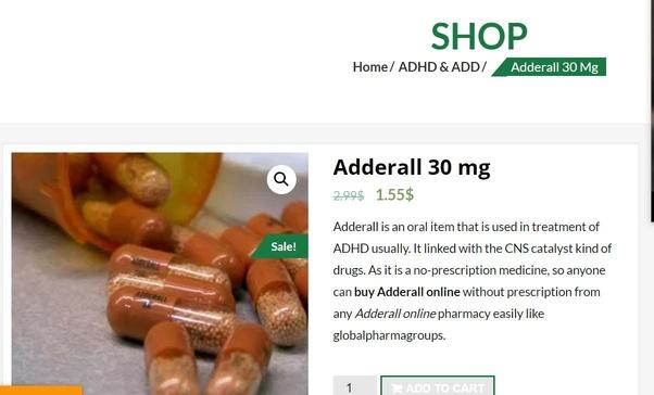 Es posible comprar Adderall sin receta médica? - Quora