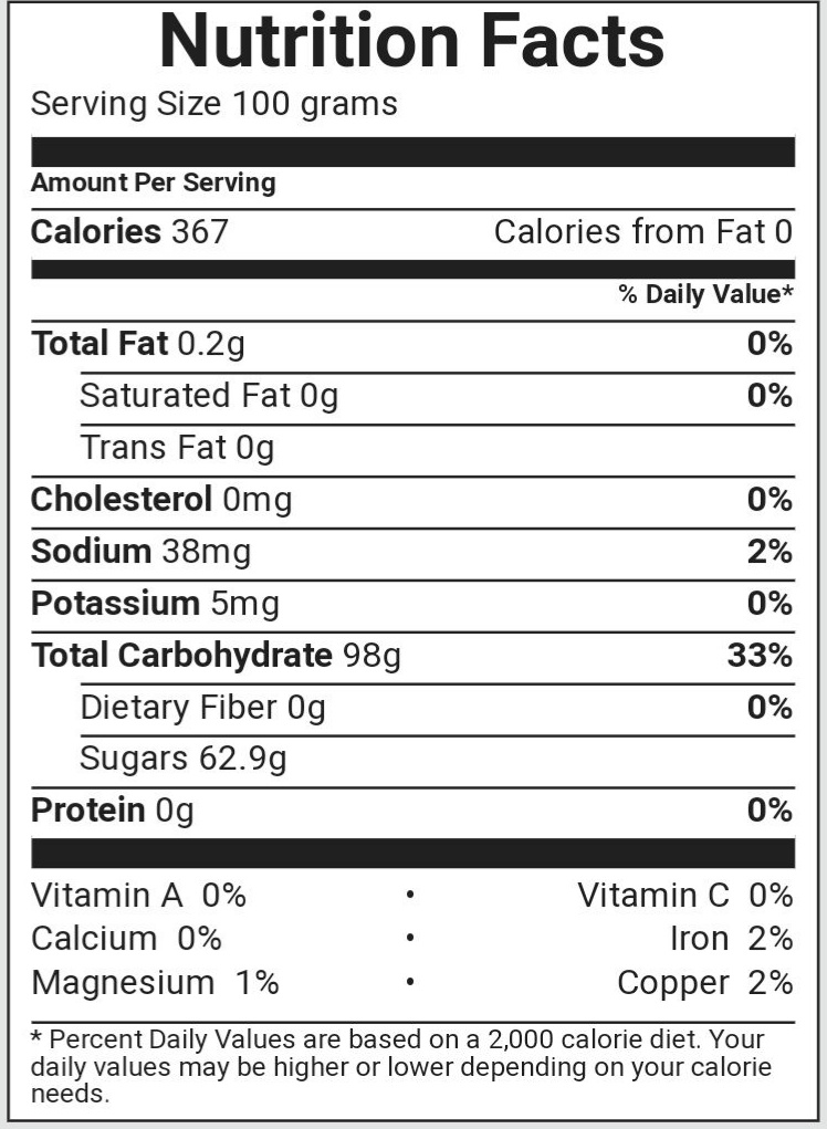 How many calories are in a lollipop on