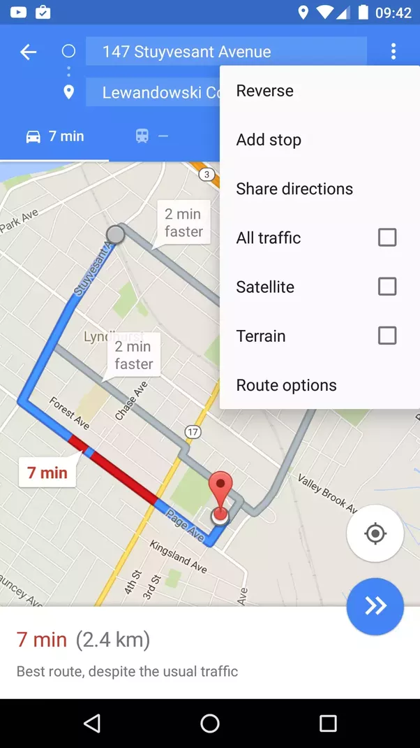 How To Add A Via Point To My Journey In Google Maps IOS App Quora - Map my route google maps