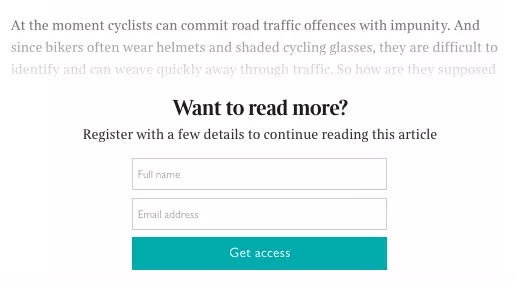 Which content sites have paywalls? - Quora