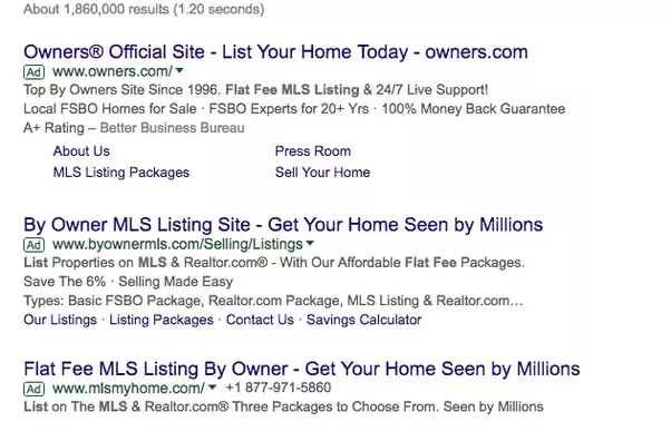 now the largest fsbo listing site with 20 of all listings being flat fee and commissionfree for sale by owner mere posting listings