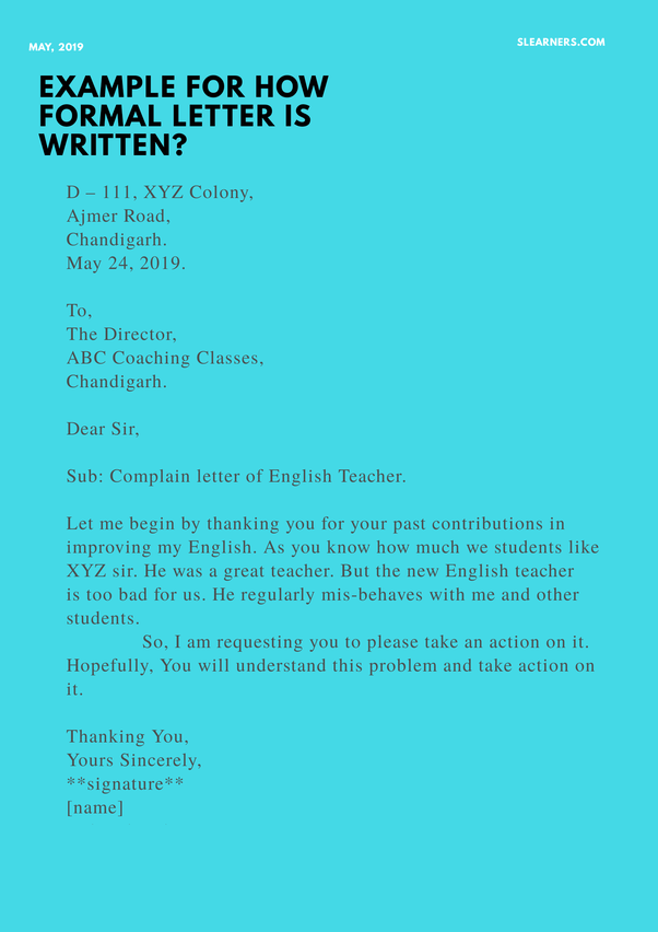 What are the best opening lines for a formal letter? - Quora