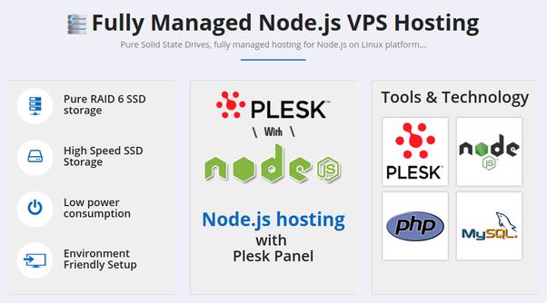 can we host node js application on godaddy com's shared