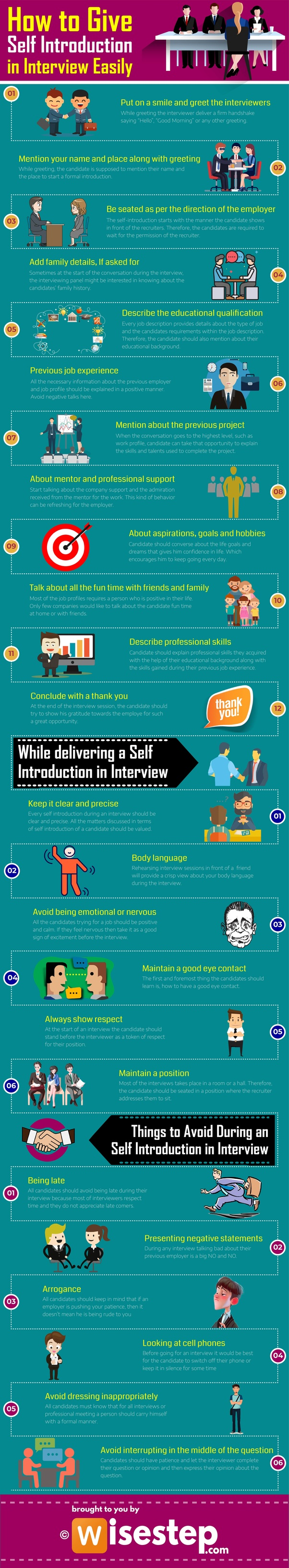 How to give the best self-introduction for an interview as ...
