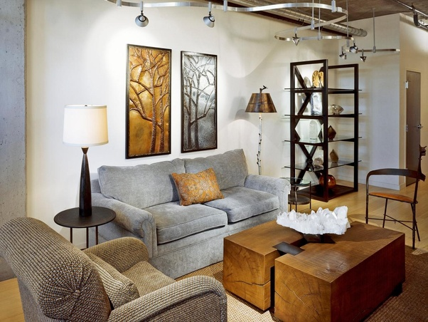 In A Large Living Room Formerly Lit By Recessed Cans And Table Lamps, A New  Lighting Design That Includes Architectural Lighting Might Consist Of Two  ...