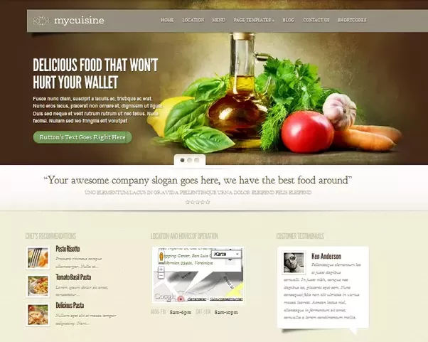 What are some tips for starting a food blog quora food recipes on themeforest forumfinder Gallery