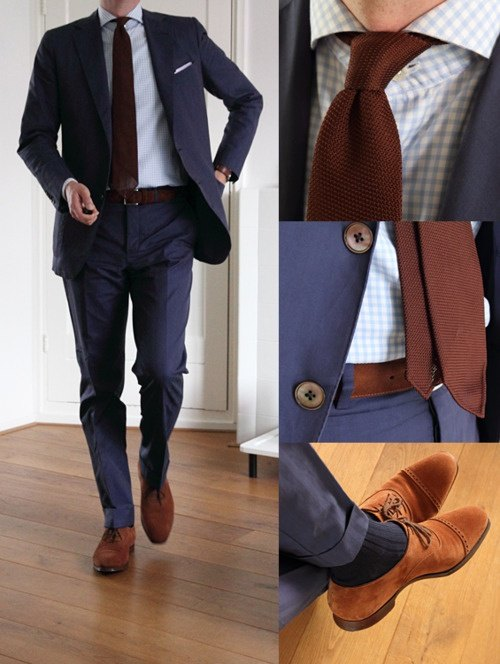Blue Point Tool Cart >> Can you match beige shoes with a dark blue suit? - Quora