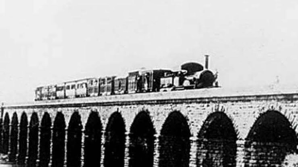 When did the first train run in India? - Quora