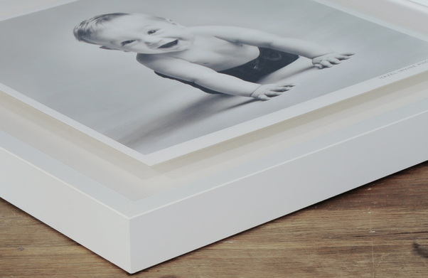 How To Frame An Artwork On Paper In A Frame Without Glass Quora