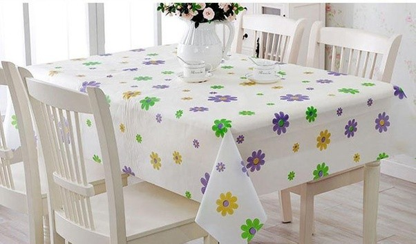Then Take The Tablecloth Out, And Place Flat On Your Table Surface. It Will  Be Mostly Wrinkle Free.