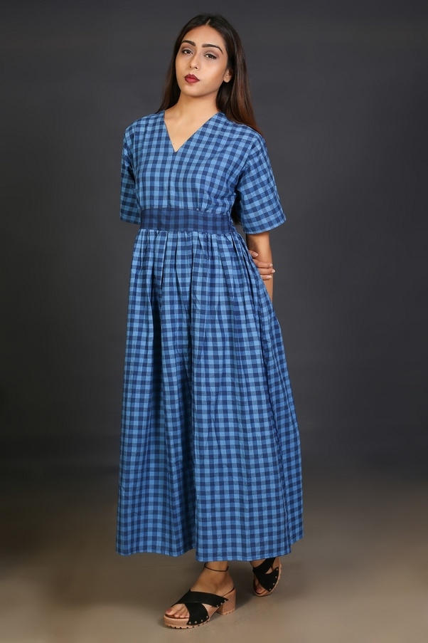 1d888cbccac Bebaak has classy and exclusive range of western dresses in checks and  stripes. The collection include dresses