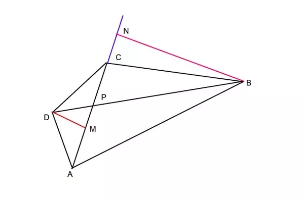 The diagonal ac and bd of a quadrilateral abcd intercept at p can answer wiki ccuart Images