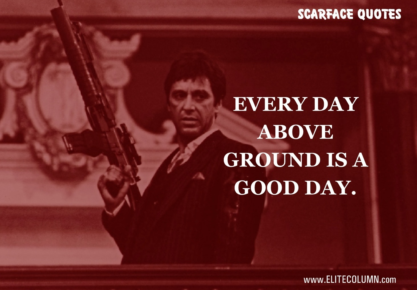 Scarface Quotes What are the best lines from Scarface?   Quora Scarface Quotes
