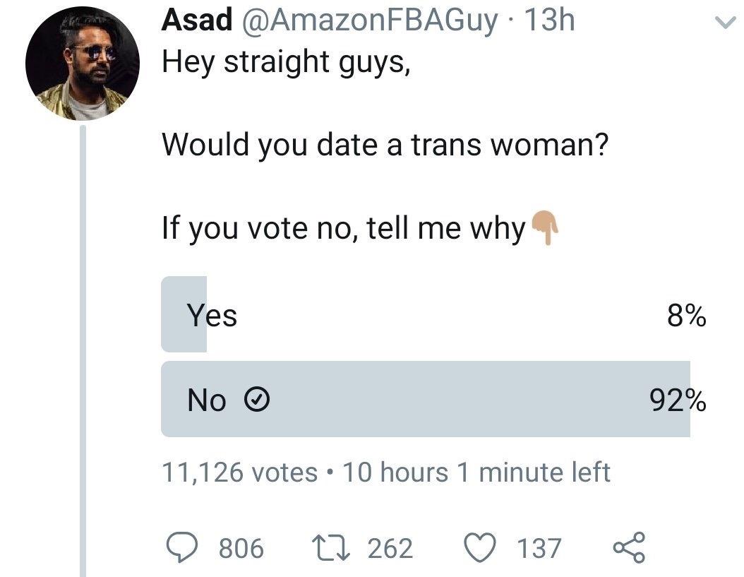 Jeg dater en transwoman
