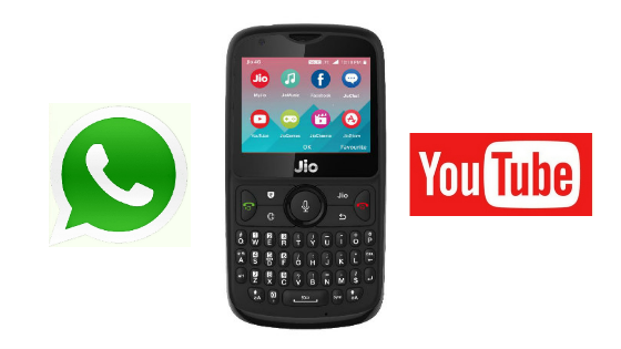 Does the Jio phone have YouTube and WhatsApp? - Quora
