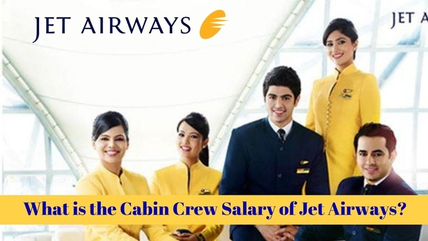 What is the salary of a fresher as a cabin crew member in