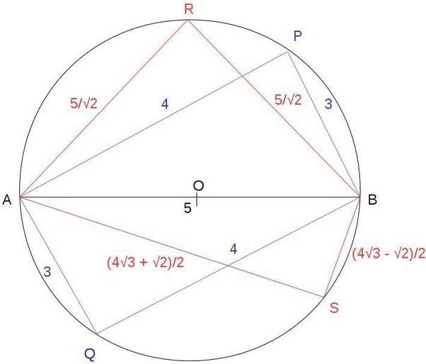 If i know the area of a cyclic quadrilateral then how can i find if i know the area of a cyclic quadrilateral then how can i find the perimeter quora ccuart Gallery