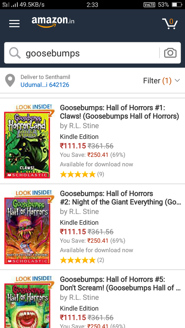 Goosebumps Books Ebook