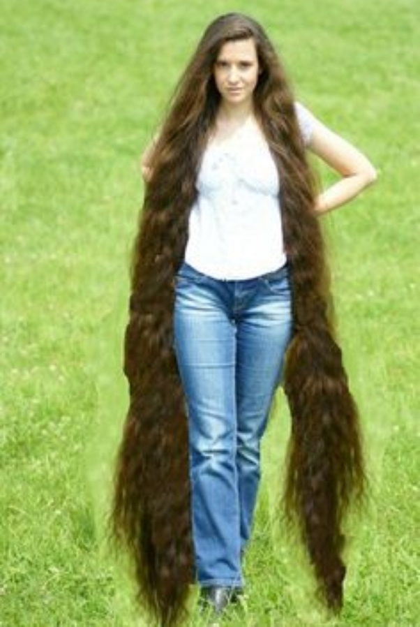 Hair women and long 50 NEW