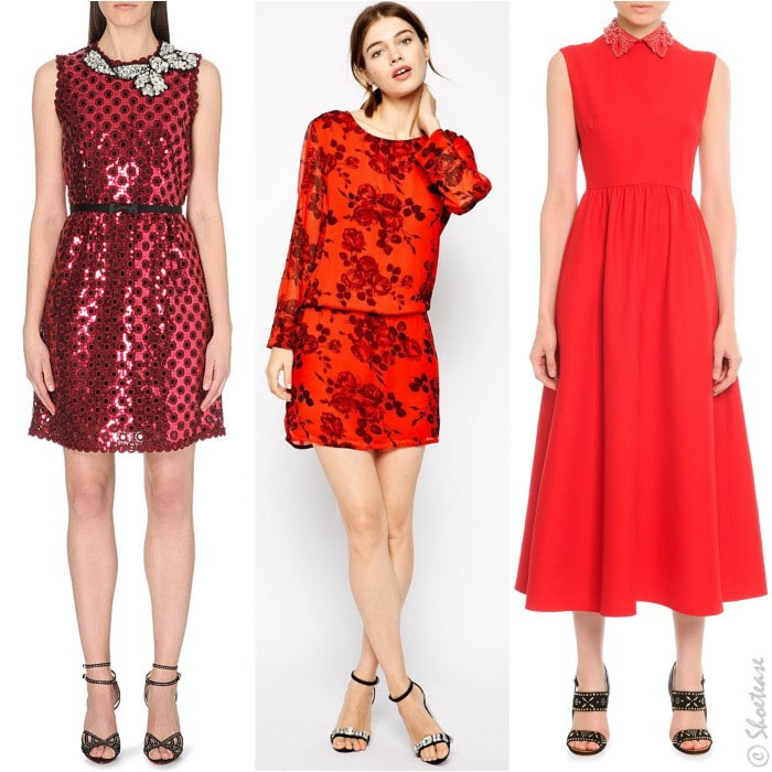 What Color Shoes Should I Wear With A Red Dress Quora