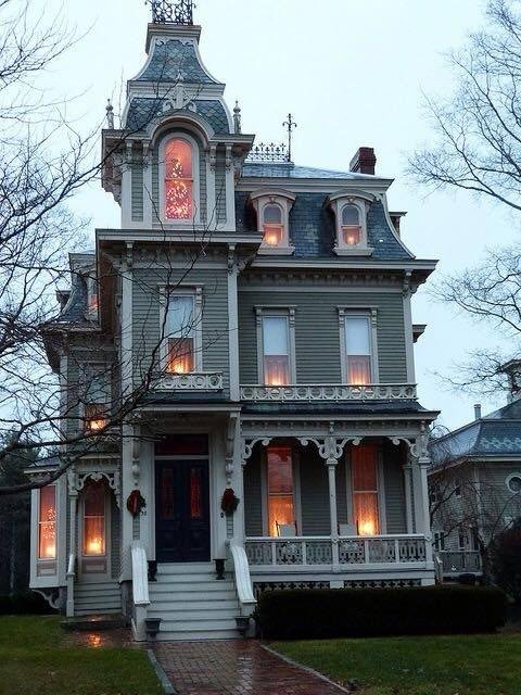 Owners Of Victorian Style Homes Often Paint Them In Whimsical Colors,  Reflecting The Freedom Afforded By The Industrial Revolution, Which Spawned  The ...