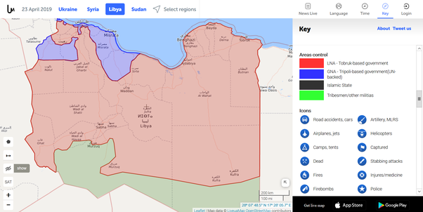 Who controls what in Libya? - Quora