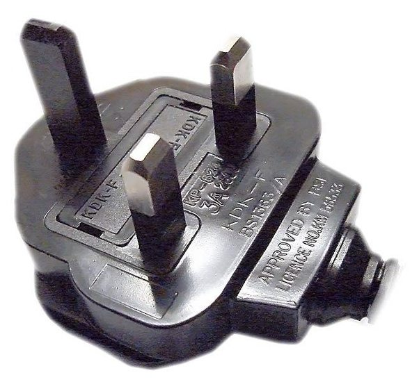 Why is the Earth pin of some 3-pin plugs made of plastic? It is ...