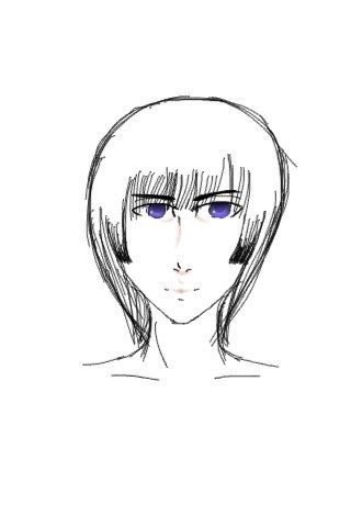 how to make drawn hair look realistic