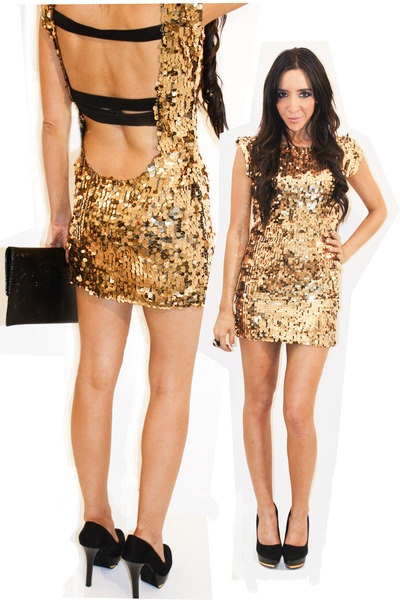Rose Gold Dress With Black Heels Buy Clothes Shoes Online