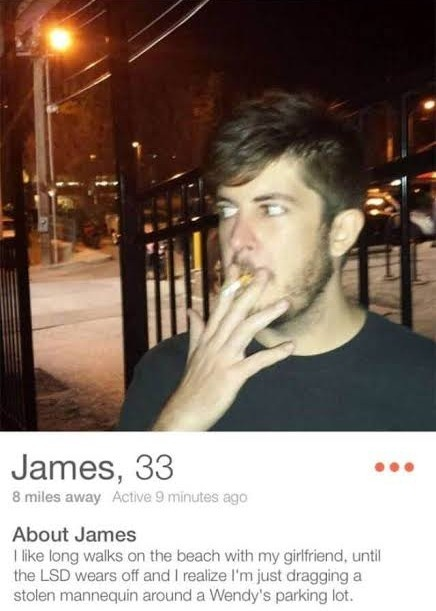 Cliche dating profile long walks on the beach