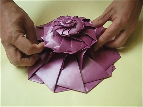 What are some elegant or complex origami models for ... - photo#10