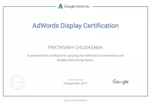 Adwords Certification Cost
