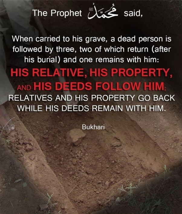 What do we know about life in grave according to the Quran and the